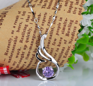 Beautiful Sterling Silver Necklace for Your Girlfriend ...